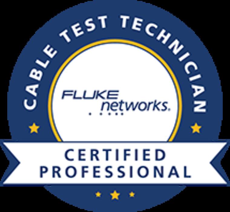 E-Breizh est certifié CCTT FLUKE NETWORKS 0