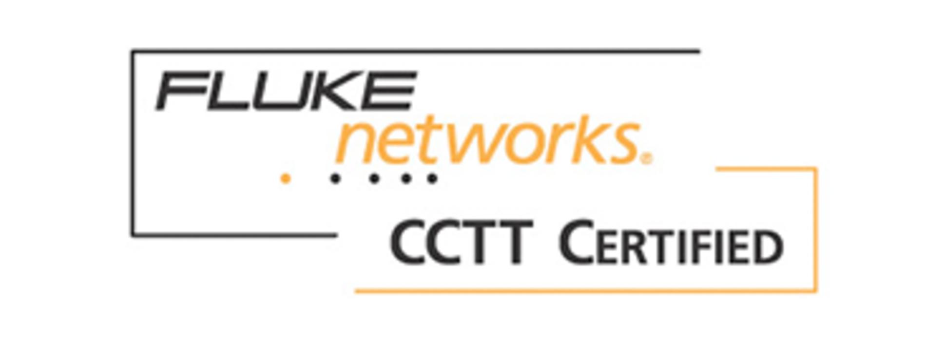 E-Breizh est certifié CCTT FLUKE NETWORKS flu